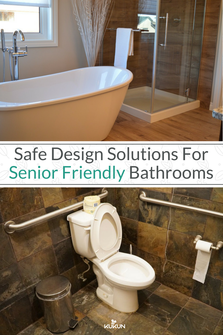 Safe Design Solutions for Senior Friendly Bathrooms | Brown bathroom ...