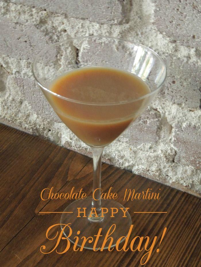 Chocolate Cake Martini Recipe Martinis Chocolate cake and Chocolate