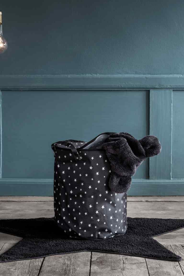 panier de rangement h m box and basket h m home. Black Bedroom Furniture Sets. Home Design Ideas