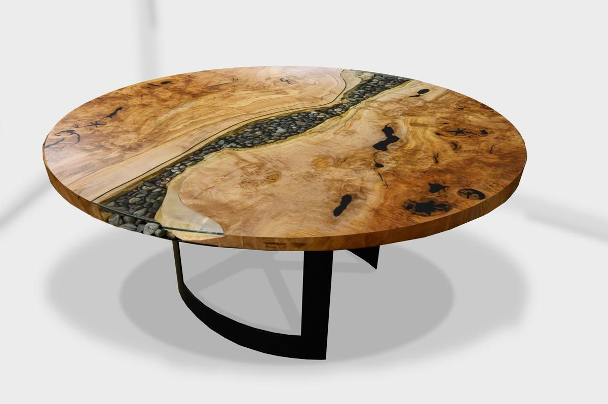 Residential Dining Rooms With Images Metal Round Dining Table
