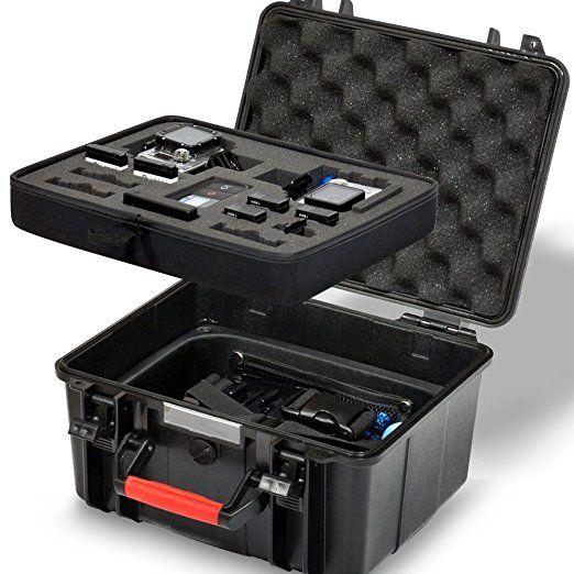 Smatree SmaCase GA700-2 rigida Floaty/Acqua-Resist Custodia per GoPro Hero 5,4,3+,3,2, 1(Camera e accessori non inclusi): Amazon.it: Elettronica