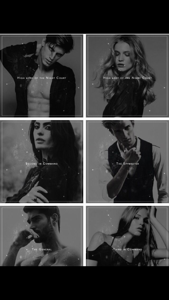 Rhys Feyre Amren Azriel Cassian And Mor With Images A