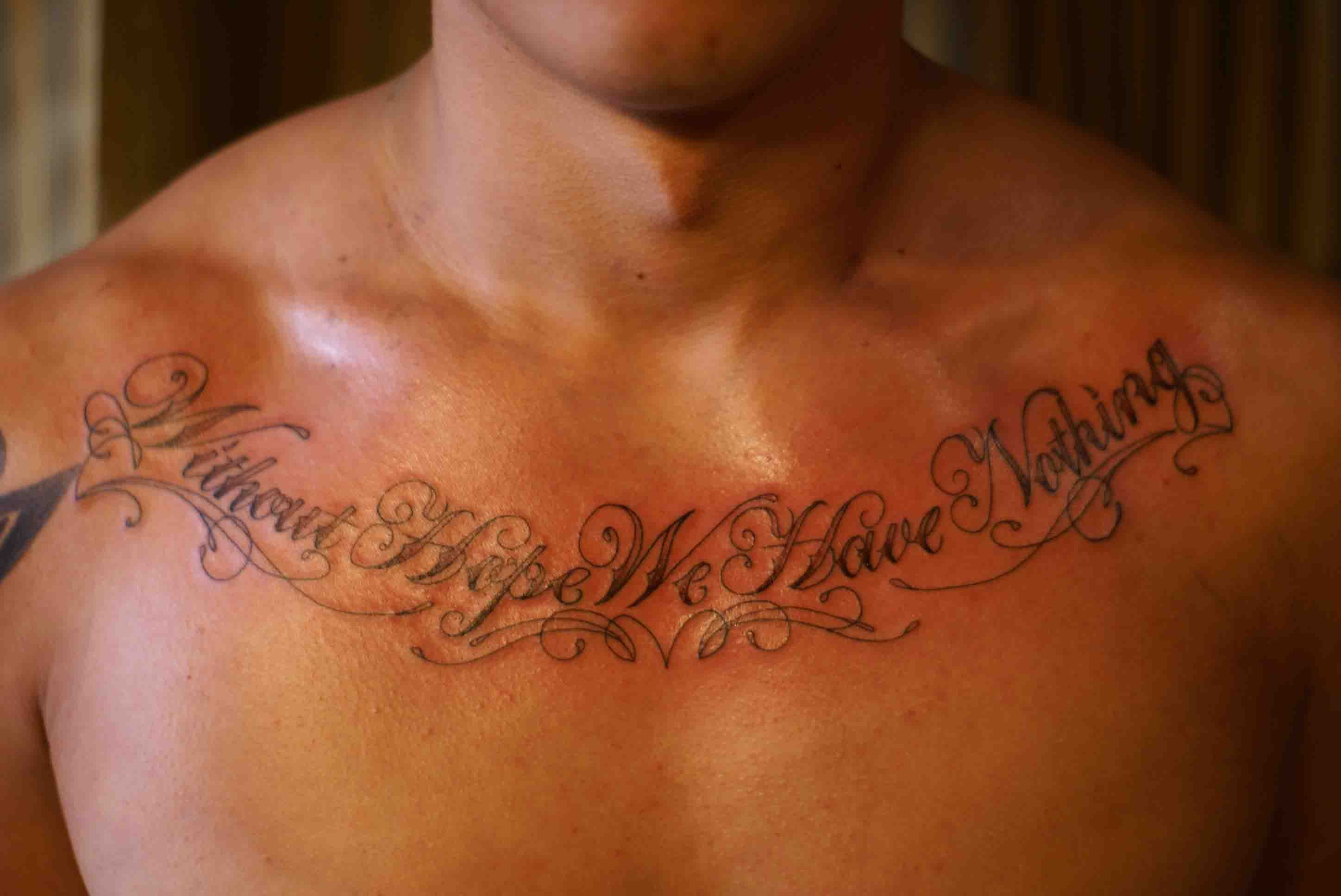 Some Beautiful Script By Shaun Christopher