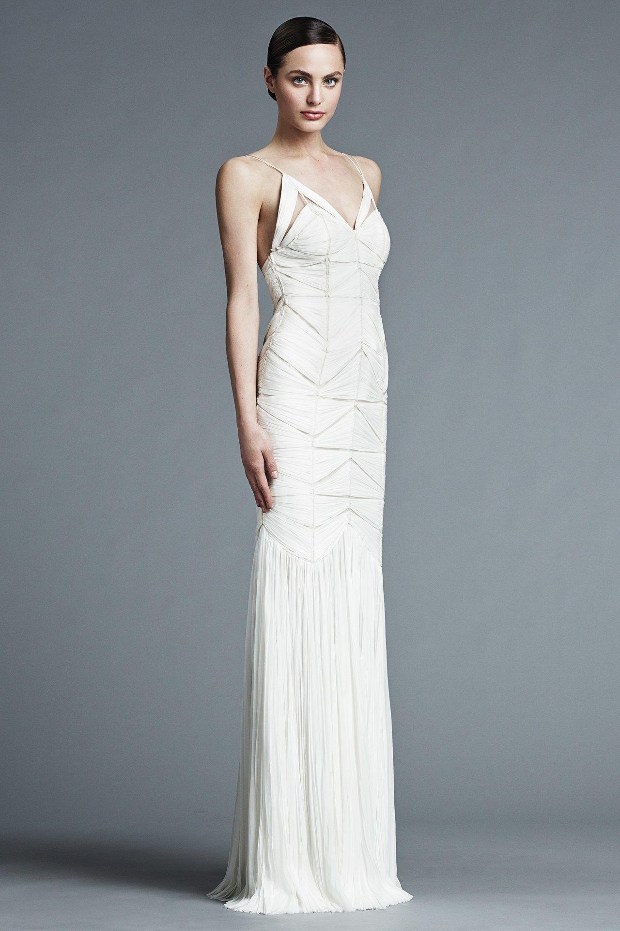 J. Mendel Spring 2015 Bridal Collection | Bridal Gown--Unique Gown ...