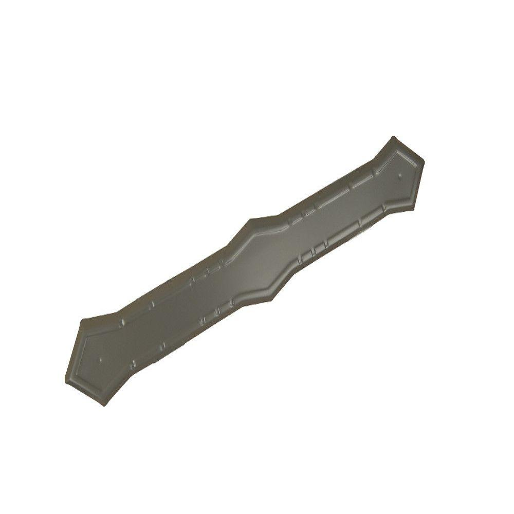Tux Gray Aluminum Downspout Band