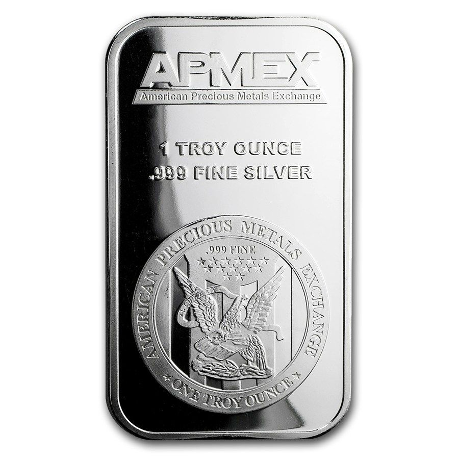1 Oz Silver Bar Silver Bars Silver Coins For Sale Apmex