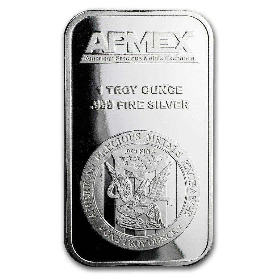 Apmex 1 Oz Silver Bar 999 Fine Silver Apmex Silver Bars Silver Coins For Sale Apmex