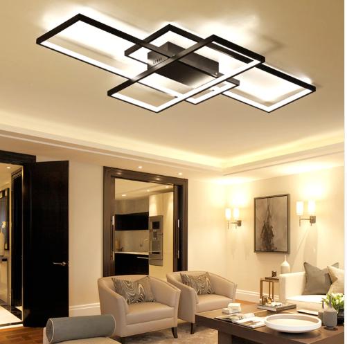 Modern Rectangular Aluminum Led Ceiling Light With Images