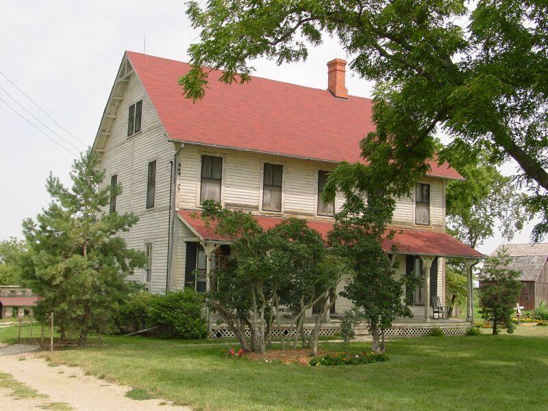 Captivating Francescau0027s House From The Film Bridges Of Madison County