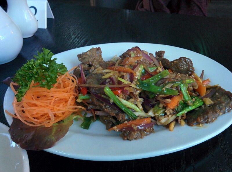 Beef with Chilli...Nam Phad Phrik