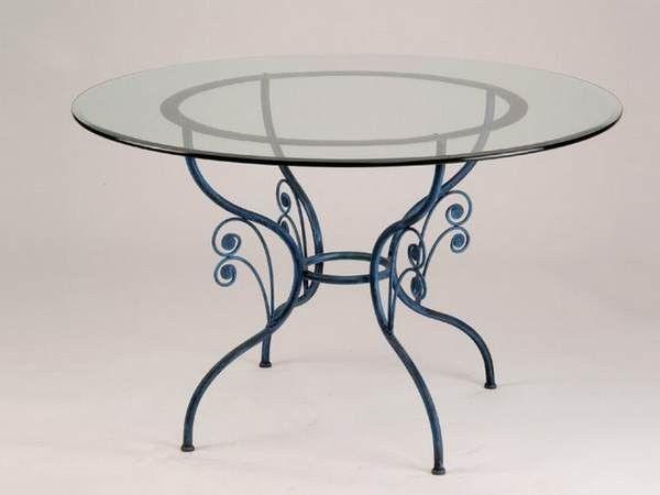 Table Ronde En Fer Forge Graziella Table Basse Fer Forge Table Ronde Design Table Fer Forge