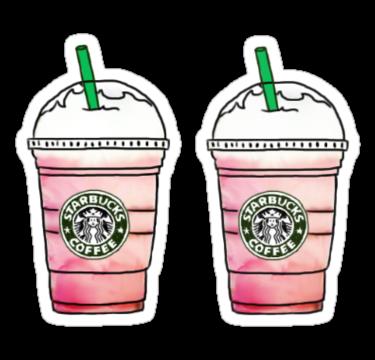 'Starbucks' Sticker by Claire Chesnut in 2020 Tumblr