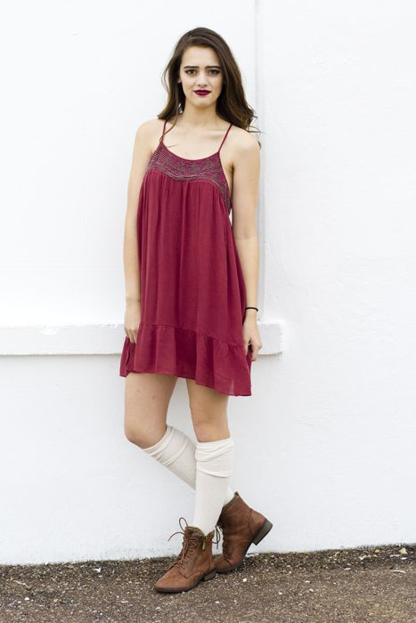 Summer Dress Knee High