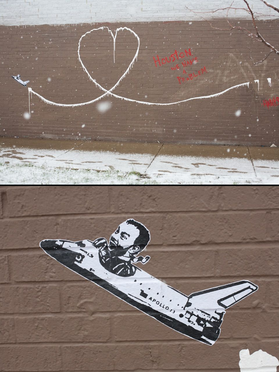 Hanksy In Chicago Street Artist Hanksy Subverts Banksy S High Profile Pieces By Inserting Tom Hanks Into The Scene Funny Art Memes Street Artists Art