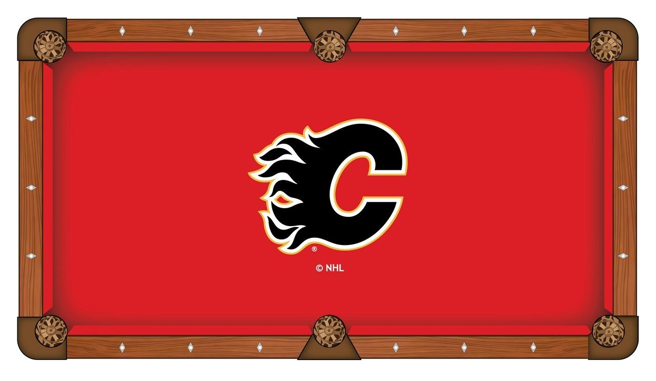 Calgary Flames Holland Bar Stool Co Red Billiard Pool Table Cloth Products Pool Table Cloth Billiard Pool Table Pool Table