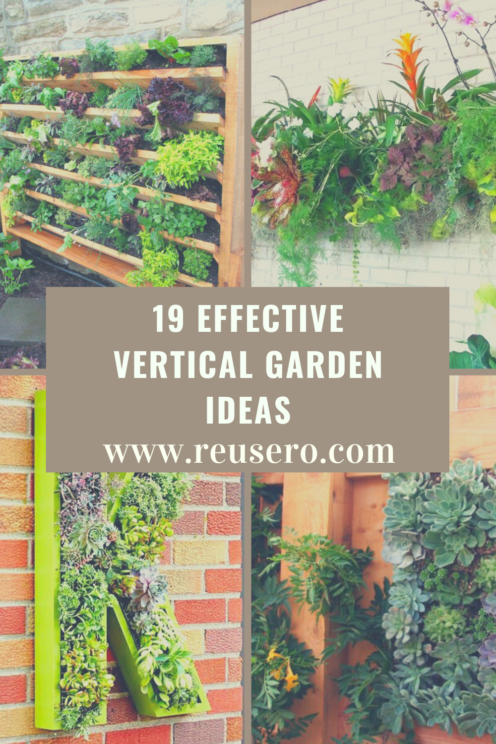 19 Awesome Vertical Gardening Ideas For Your Garden Reusero Vertical Garden Garden Diy Garden