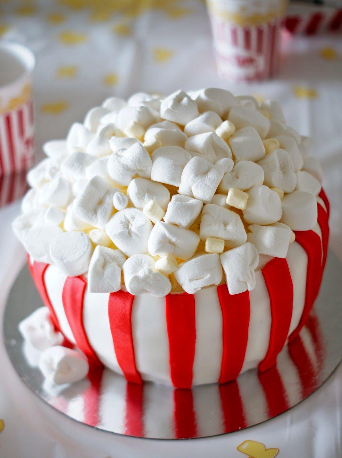 Confetti Popcorn cake