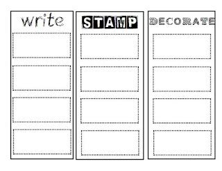 actual worksheet, write, stamp, decorate | Word work ...
