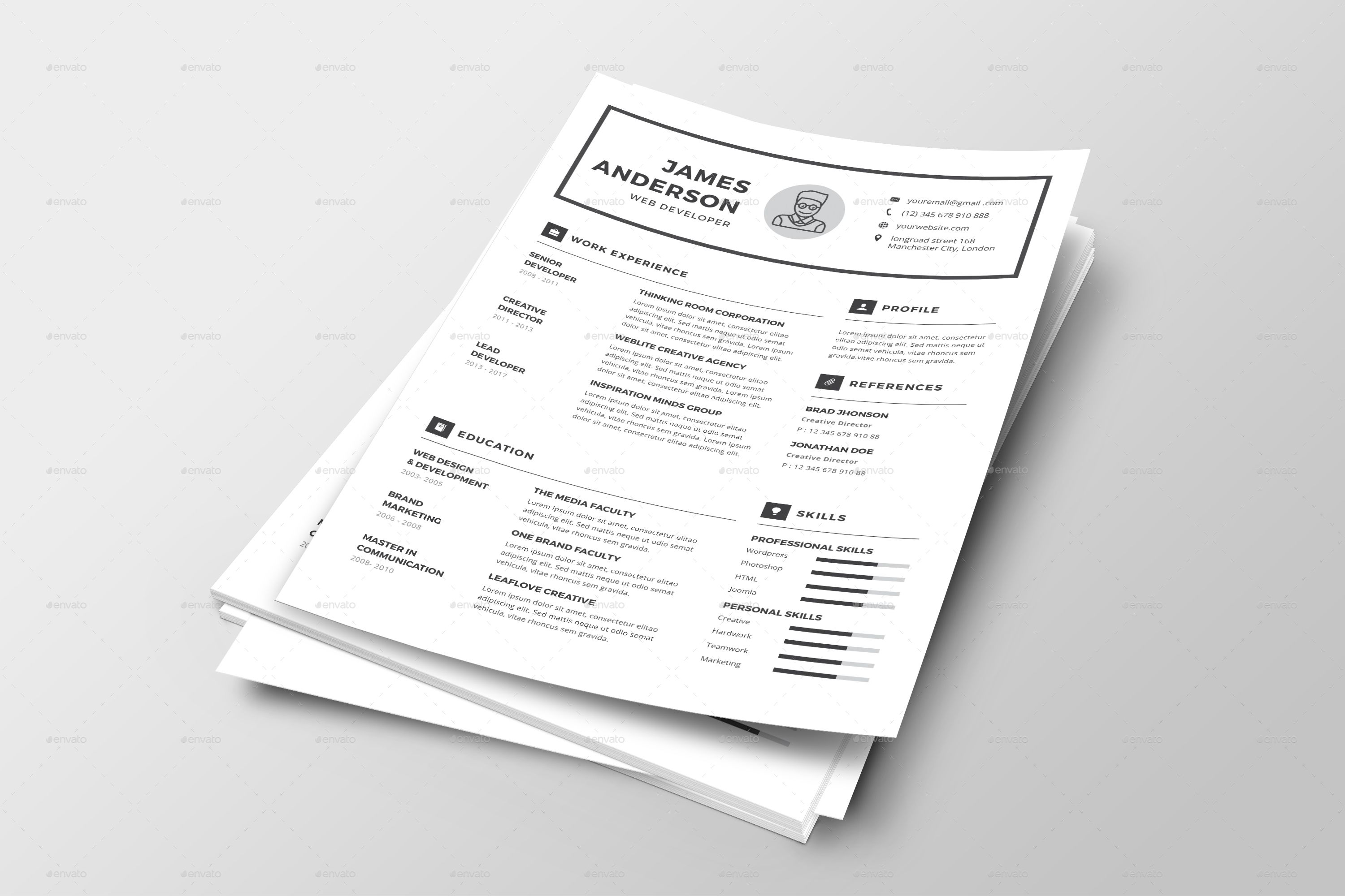 Professional Resume & Cover Letter #Ad #Resume, #ad ...
