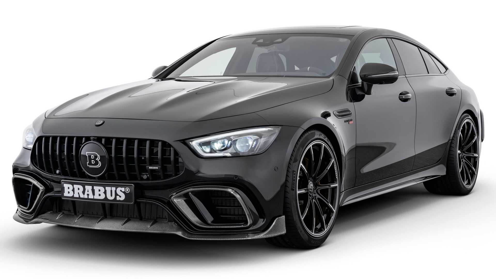 Brabus Mercedes Amg Gt 63 S 4 Door Coupe Packs Whopping 789 Hp