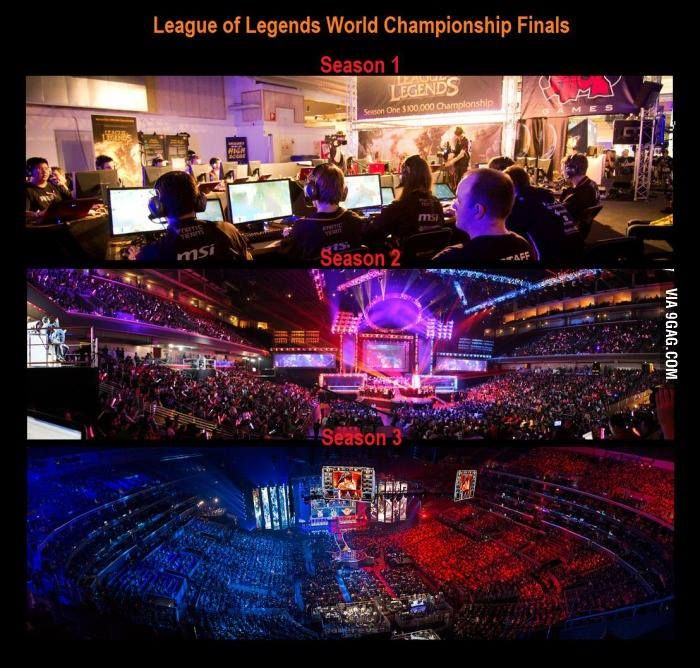 World Championship Then And Now League Of Legends Lol