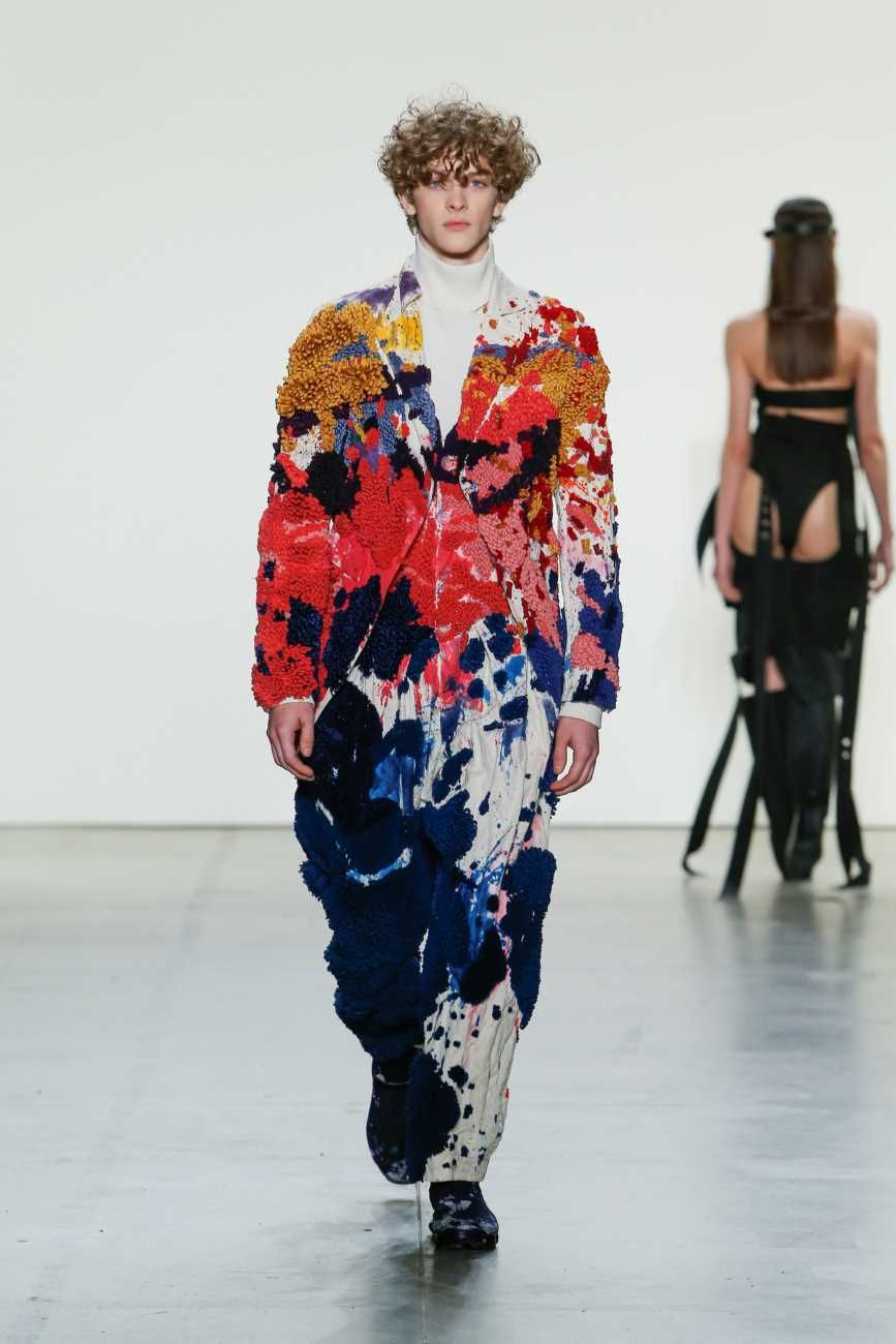 Parsons Mfa Fashion Design Society Runway Show New York Fashion Week Fashion Weird Fashion Trending Weird Fashion