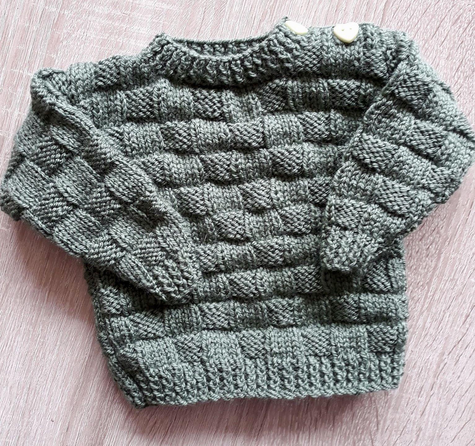 Hoe brei ik een babytruitje? | baby trui breien | Gratis