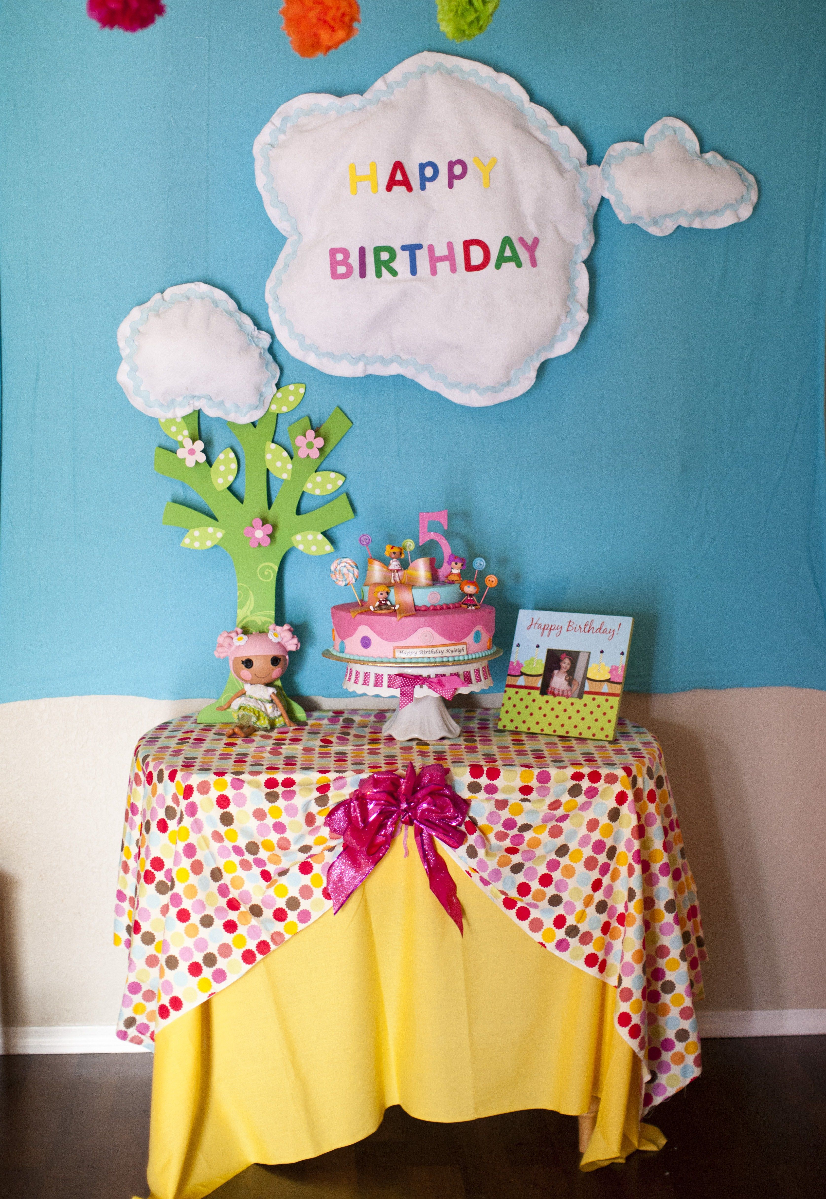 Lalaloopsy Birthday Lalaloopsy birthday Pinterest