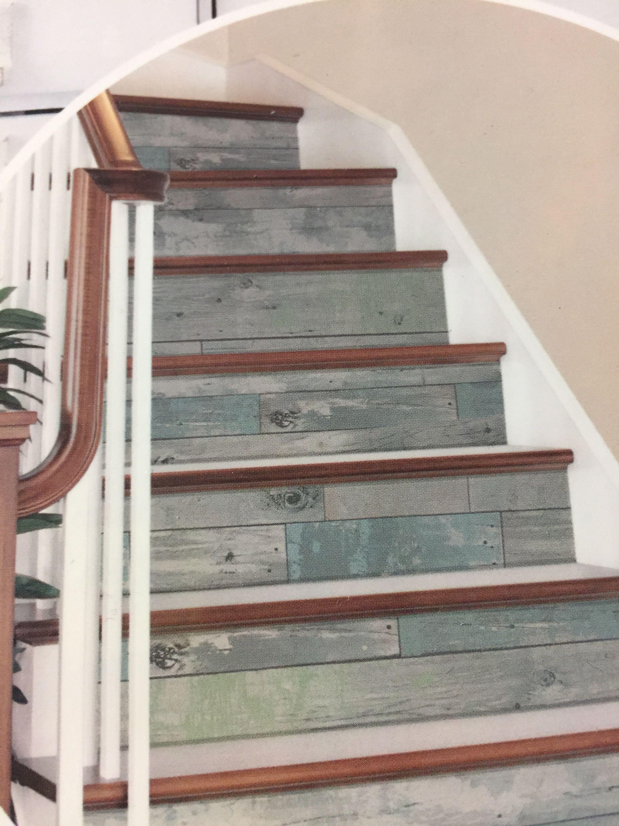 Nuwallpaperwall pops Brewster Reclaimed wood look for