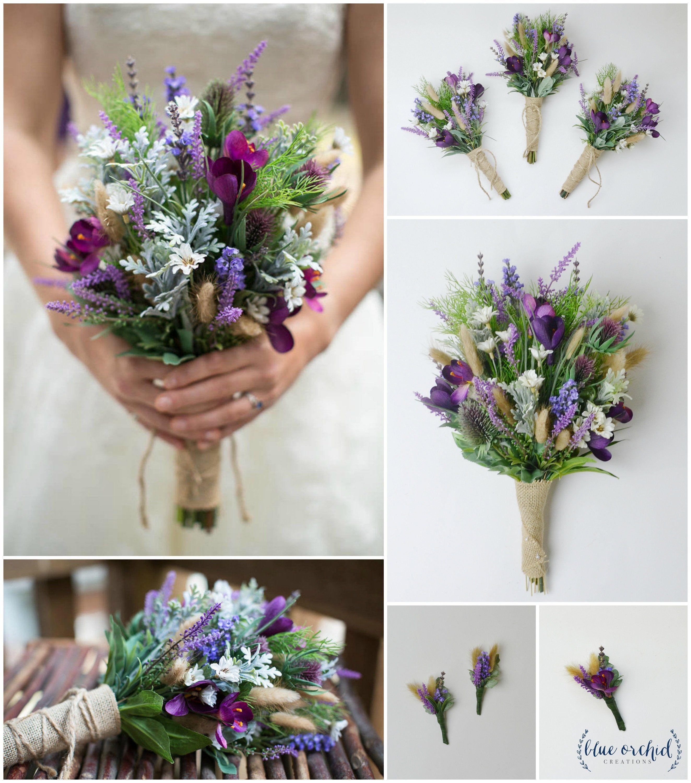 Wildflower Bouquet Bridal Bouquet Wedding Flowers Etsy Flower Bouquet Wedding Wildflower Wedding Bouquet Wedding Bouquets Sets