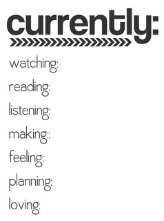 Free Currently Journaling Card for Project Life
