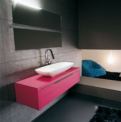 Awesome Salle De Bain Fushia Et Noir Contemporary - lalawgroup.us ...