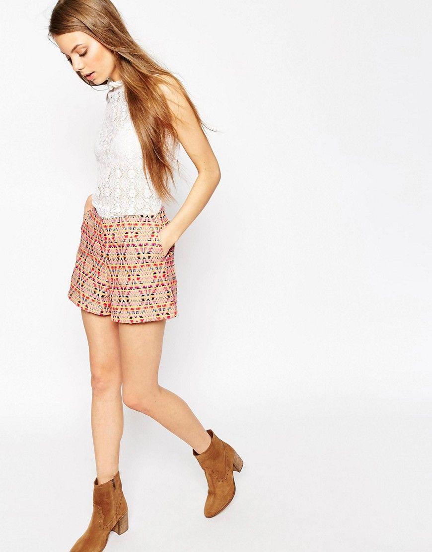 ASOS+Woven+Jacquard+Shorts
