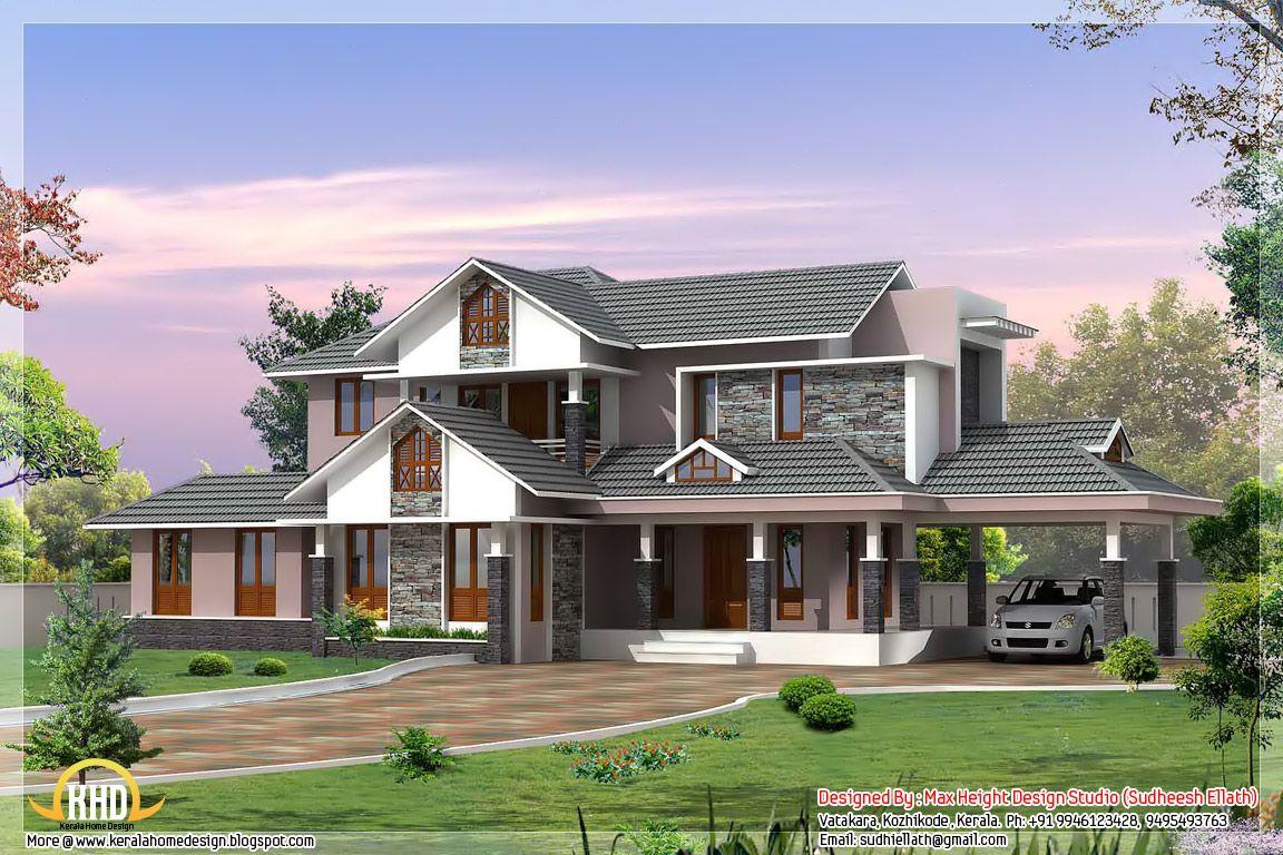 dream homes | Kerala style dream home elevations