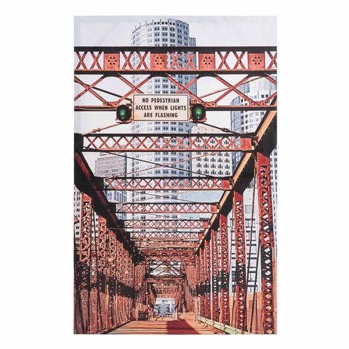toile bridge nyc maisons du monde mdm indus pinterest tela ponts et toile. Black Bedroom Furniture Sets. Home Design Ideas