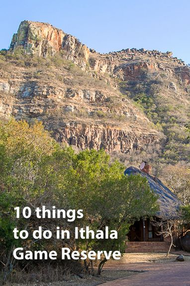 10 things to do at Ithala Game Reserve. Author of A Walk in the Park (about road tripping around South Africa's national parks) shares her hints. Find the ebook on Amazon https://www.amazon.com/gp/product/B017ZZ56SI/