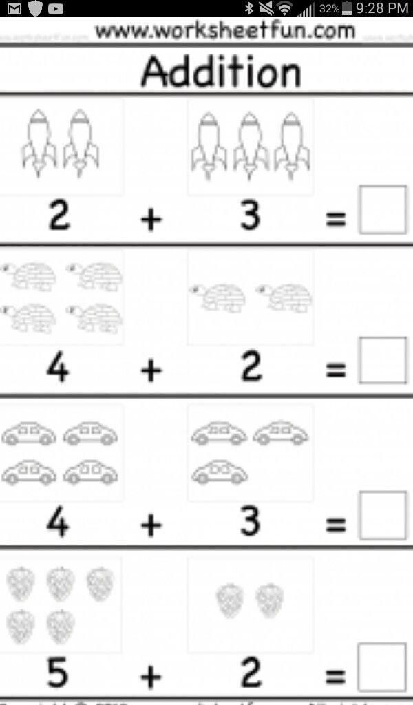Pin By Kinberly Marasigan On Kids Kindergarten Math Worksheets Free Kindergarten Math Worksheets Addition Math Addition Worksheets