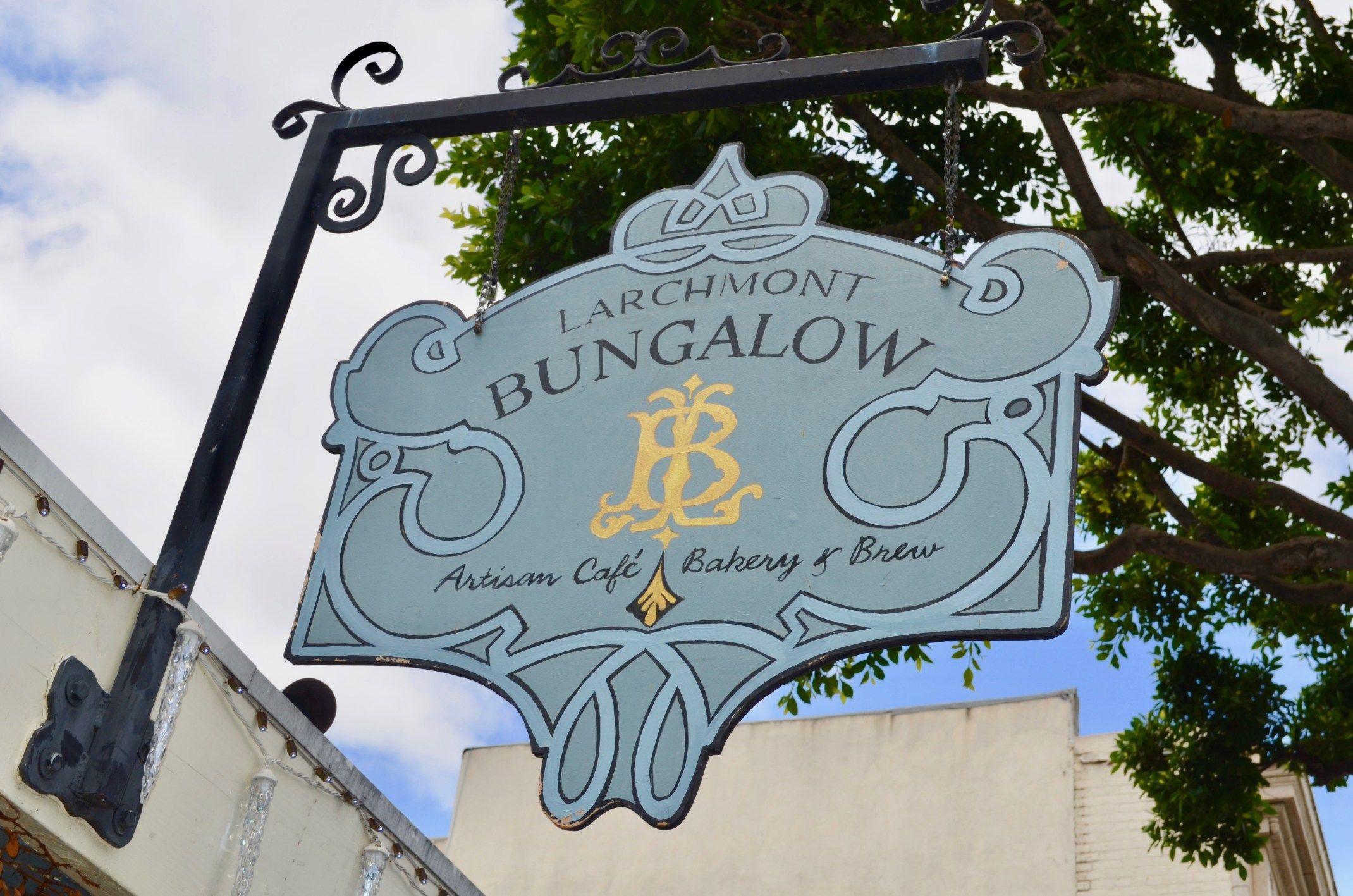L A Places Bungalow Heaven: Balade à Larchmont Village