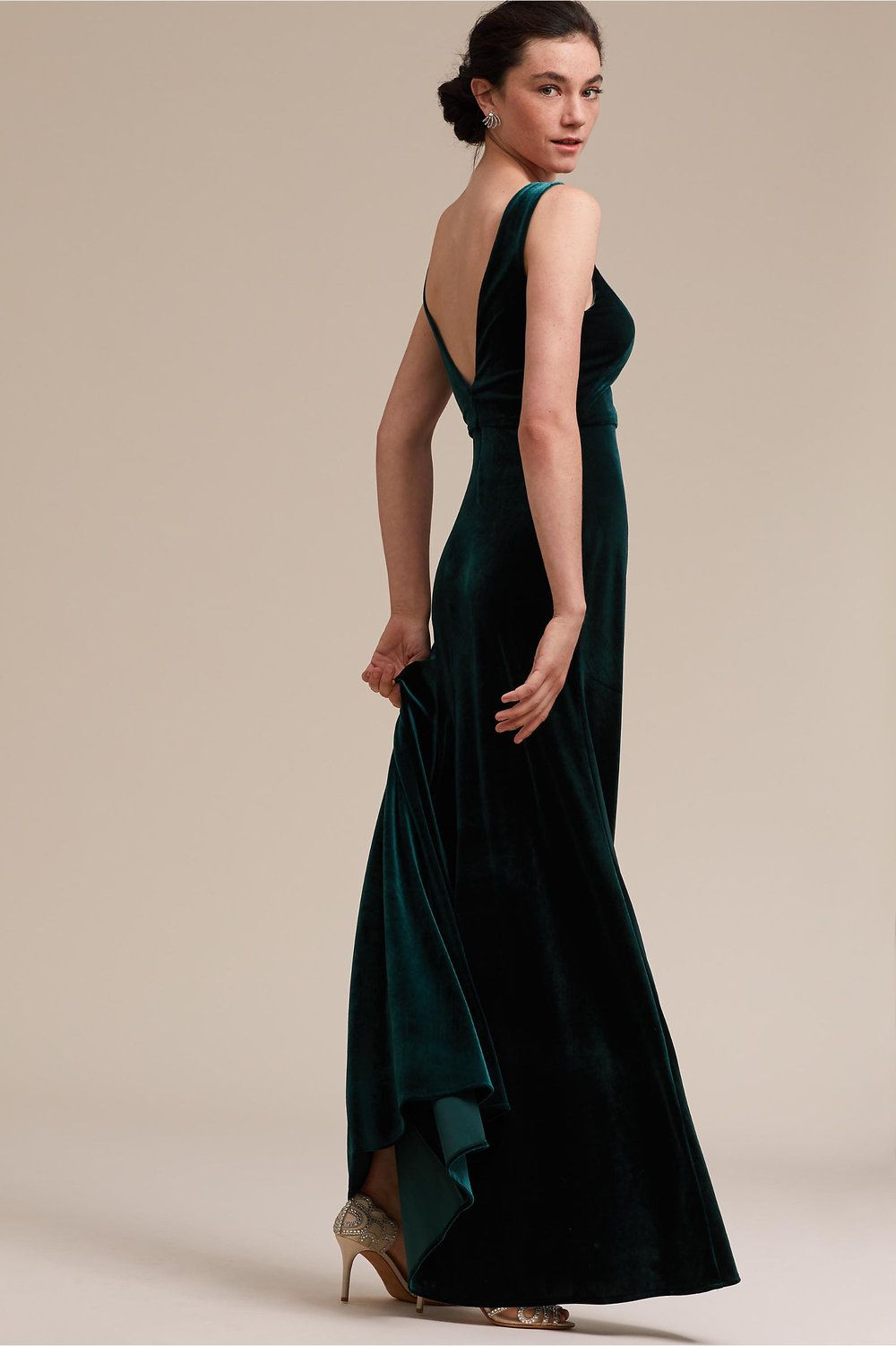 Dresses to wear to fall wedding as a guest   Dark and Moody Fall Wedding Dresses from BHLDN Under   The