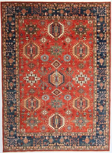 New Afghanistan Hand Knotted Antique Recreation Of A 19th