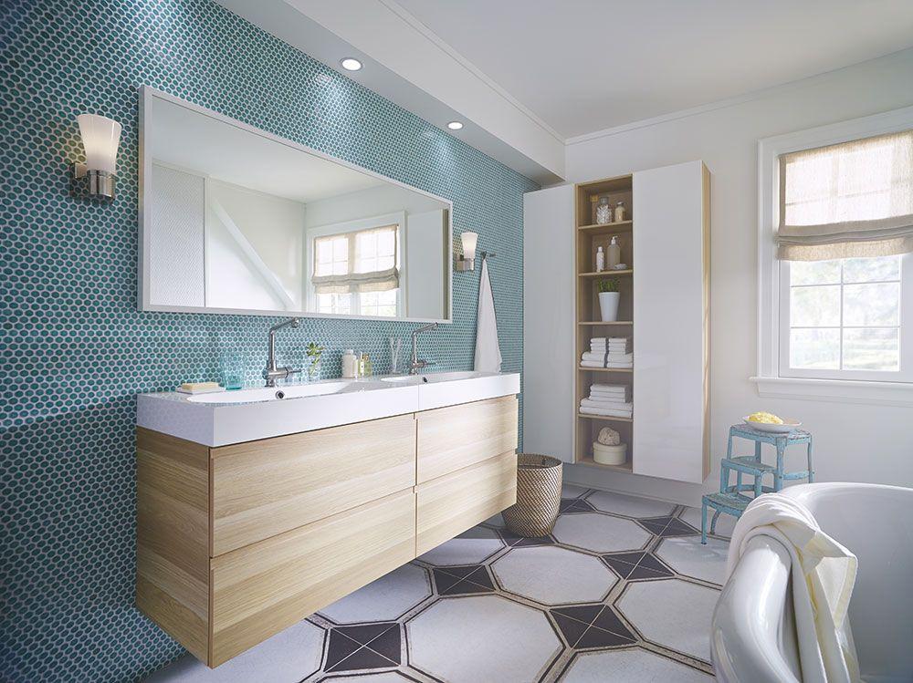 10 trucs pour r nover sa salle de bains. Black Bedroom Furniture Sets. Home Design Ideas