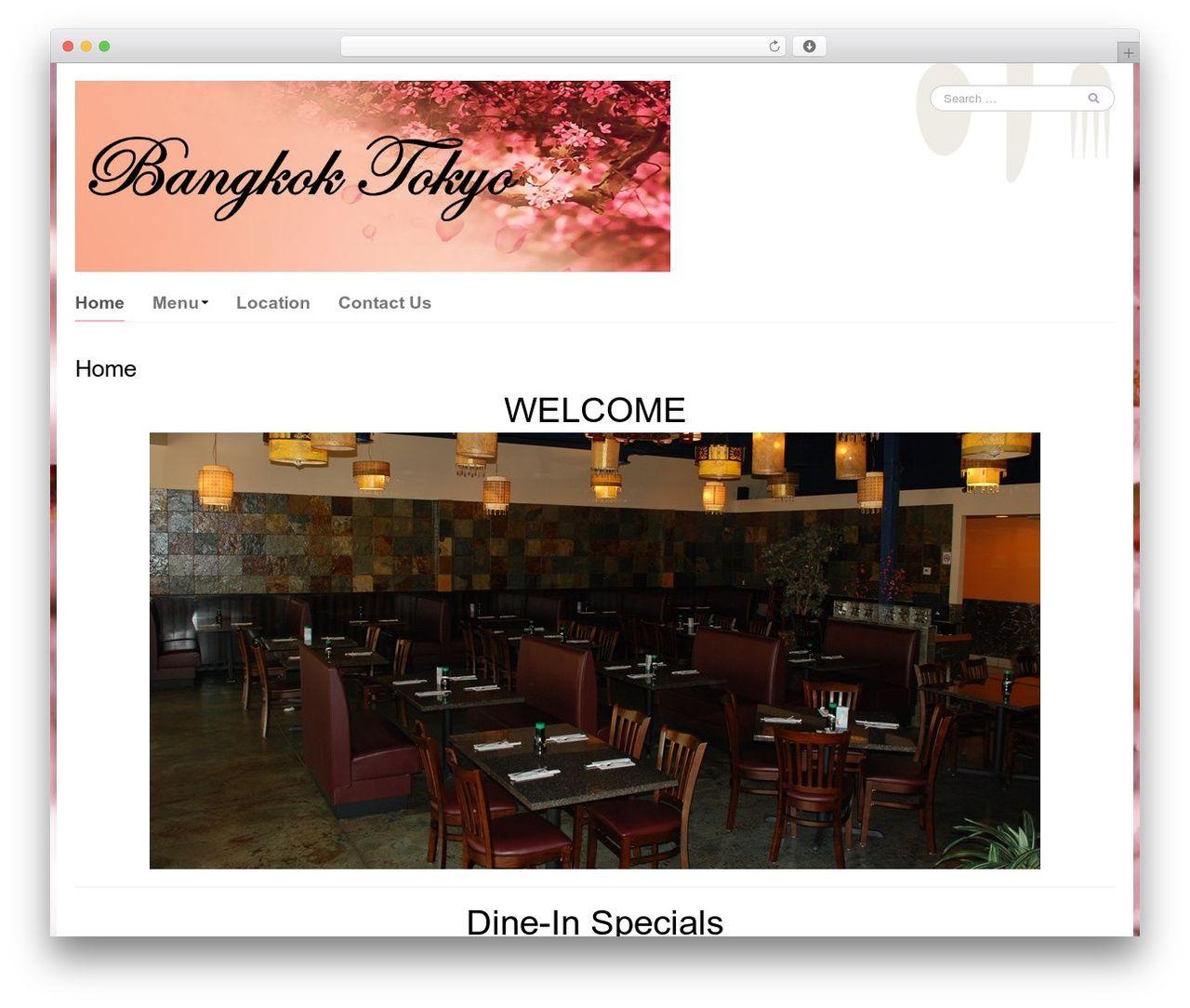 Go Daddy Yummi best restaurant WordPress theme ...