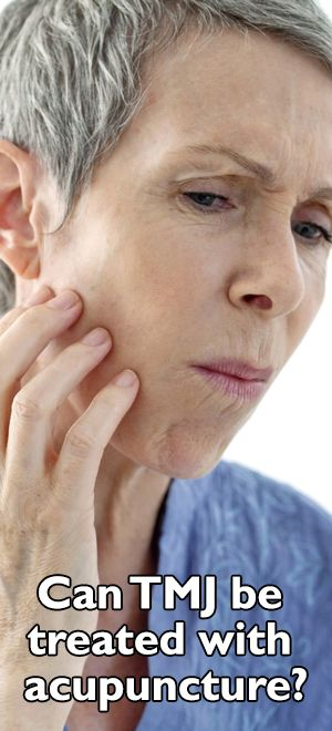 Can TMJ be treated with acupuncture? | Acupuncture ...