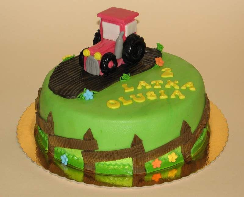 Tort Traktor Szukaj W Google Kuchen Torten Fondant Torten