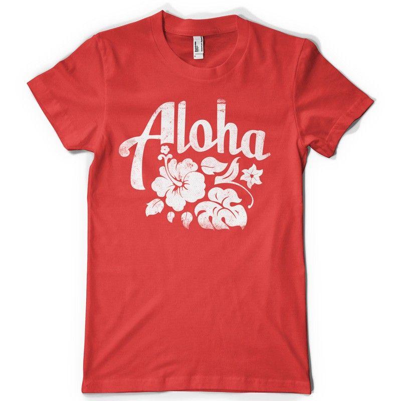 7c13e8fd3e Aloha T-shirt design