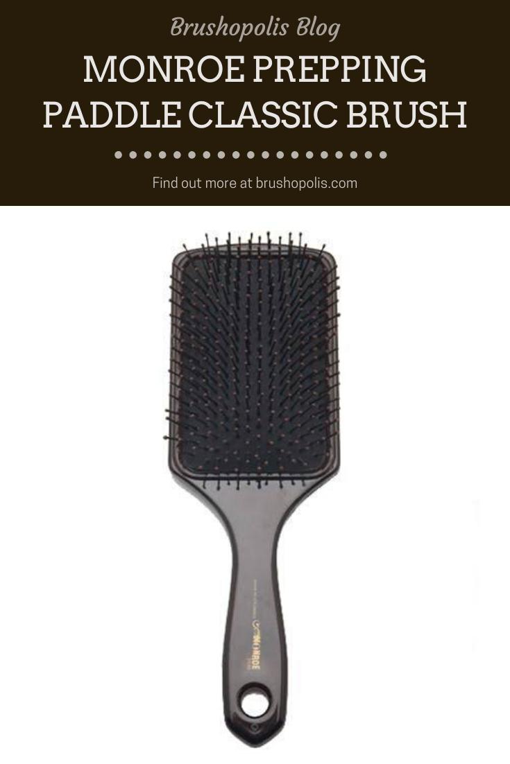 Monroe Prepping Paddle Classic Brush Vintage Hairstyles Tutorial Wet Hair Overnight Wet Hair