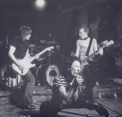 Dead Boys at CBGB's.