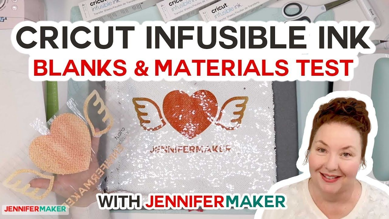 Cricut Infusible Ink Blanks What Other Materials Can We