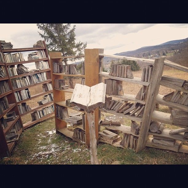 Stone Quarry Hill (Art Park)--Library art in nature