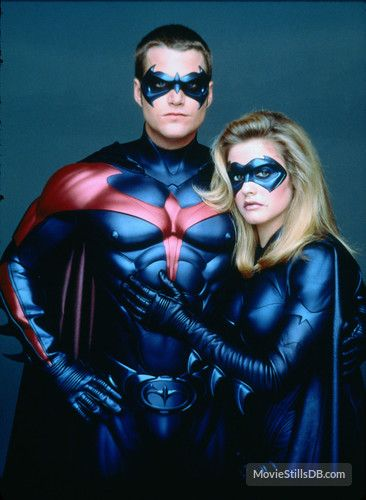Batman And Robin Promo Batgirl And Robin Batman And Robin Movie Batman And Robin 1997 Batman